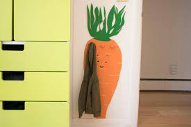 How To Make A Coat Rack Mesmerizing How To Make A Whimsical CarrotShaped Coat Rack For A Kid's Room HGTV