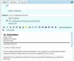 Bistrun How To Email A Resume And Cover Letter Sample Follow Up