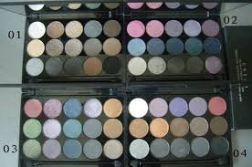 mac 15 color cream eyeshadow palette mac makeup outlet uk official
