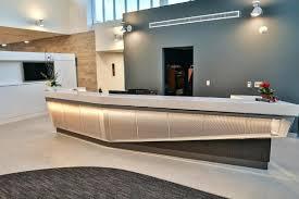 custom reception desks fabulous metal reception desk custom desk perforated metal panels custom made reception desks