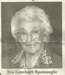 Iva Lambert Sponaugle (1907-2007) - Find A Grave Memorial