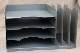 desk file organizer. Simple Desk Litning Vintage Industrial Steel Desk Top In U0026 Out Paper Tray W Office File  Organizer Intended Desk File Organizer M