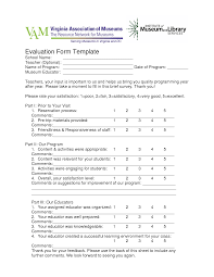 Colorful Training Evaluation Survey Template Sketch - Example Resume ...