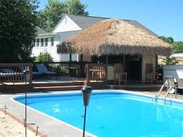 pool house tiki bar. Brilliant Bar Pool Tiki Bar Backyard Tropical Outdoor Designs For House I