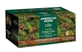 pine mountain american home by yankee candle fragrance firelog