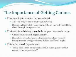 the curious researcher ppt  the importance of getting curious