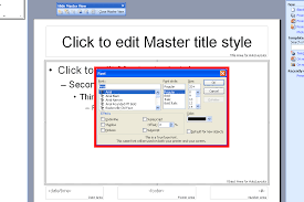 Powerpoint Create Slide Template Powerpoint 2003 Create Custom Design Templates And Master Slides