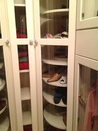 lazy susan shoe storage pretty lazy in traditional with closet safe next to shoe closet lazy susan