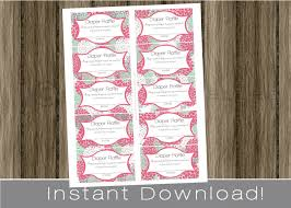 raffle tickets baby shower diaper raffle tickets for girl pink hydrangeas instant diy digital printable file print your own babyshower idea