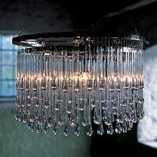 ochre drizzle chandelier 2 tiers round