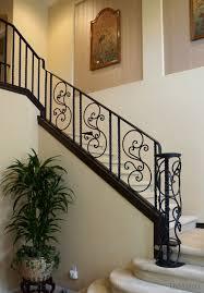 beautiful custom interior stairways. Custom Iron Railings Hand Forged Los Angeles Beautiful Interior Stairways R
