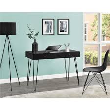 ameriwood furniture owen retro desk with drawer black altra furniture owen student writing desk multiple