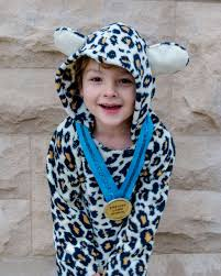 diy kids cheetah costume for boys