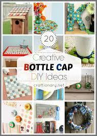Bottle Cap Decorations Craftionary 23