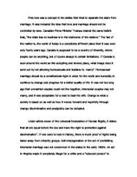 argumentative essays on same sex marriage what are the reasons for and against gay marriage law essay