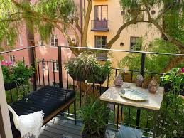 Kitchen Garden In Balcony Ravishing Small Balcony Garden Ceramic Planter Herb Plant