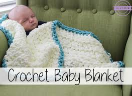 Crochet Baby Blanket Patterns For Beginners Adorable Easy Beginner Crochet Baby Blanket Sewrella YouTube