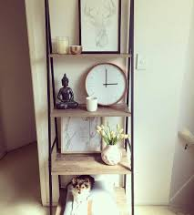 Kmart Bedroom Furniture Love These Kmart Industrial Ladder Shelves And Its Also Decked