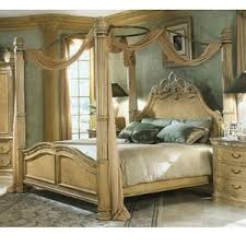 Elegant Canopy Beds Gorgeous Inspiration 14 AICO La Francaise Poster Bed In  Crackle .
