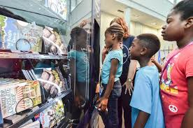Vending Machine Show Gorgeous Airline Sets Up Free Book Vending Machines In Southeast DC The