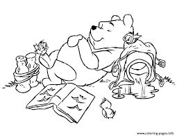 Small Picture WINNIE THE POOH Coloring Pages Free Printable