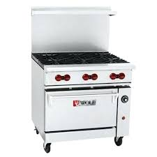 wolf gas stove. Endurance Range 6 Burner 1 Oven S 36 With Griddle Wolf Gas Stove N