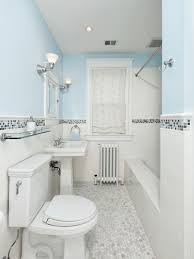 tile shower and tub combo. mid-sized transitional subway tile and white mosaic floor bathroom idea in dc shower tub combo r