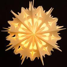 Details Zu Sikora Fb54 Papierstern Weihnachtsstern Stern Eiskristall Weihnachten Beleuchtet