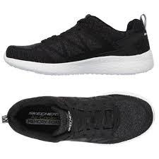 skechers shoes black mens. skechers burst deal closer mens athletic shoes - black alt.view