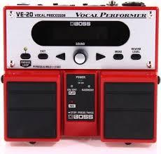 <b>Вокальный процессор Boss</b> VE-20 — купить за 17592 руб. | Music ...