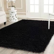exellent black area rugs for design decorating