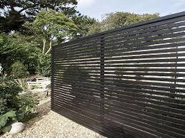 horizontal wood fence panels. Beautify The Minimalist Living With Horizontal Wood Fence : Modern Wooden Panels