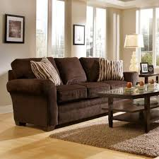 Brown Sofa hopefully in the future we will have two chocolate brown sofas