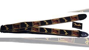 <b>Fender</b> 2 Monogrammed Black Strap <b>ремень для гитары</b> купить в ...