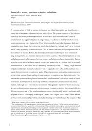 Essay Of Technology Pdf Immortality An Essay On Science Technology And Religion