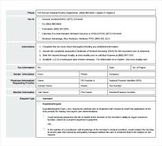 Medical Fax Cover Sheet Template Samples Sample – Otograf Site