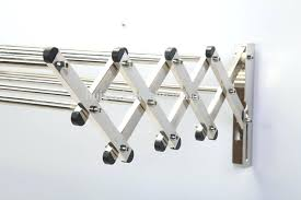 aluminum wall mount drying rack accordian accordion uk