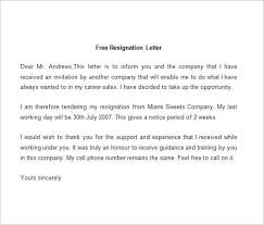 Sample Resignation Letter min