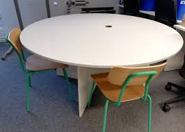 Round Office Table Free Seats 4 Good Condition In Hove East