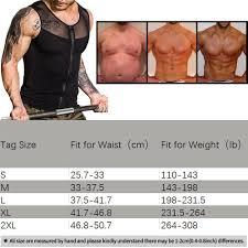 Roc Bodywear Size Chart Men Body Shaper Slimming Shirt Compression Vest Elastic Sculpting Slim Shapewear