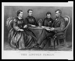 abraham lincoln ghost caught on tape. abraham lincoln with mary todd and their sons robert thomas ghost caught on tape