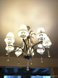 Großhandel Promotin E27 Luxus Kristall Metall Pendelleuchten Lampe Kronleuchter Qualität Stoff Lampenabdeckungen Innenbeleuchtung Zubehör