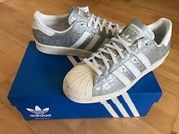 womens adidas superstars size 7 adidas superstar 80s snakeskin womens mens trainers silver size