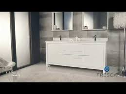 modern double sink bathroom vanities. Fresca FVN8172 Allier 72\u0027\u0027 Modern Double Sink Bathroom Vanity W/ Mirror By KitchenSource Vanities
