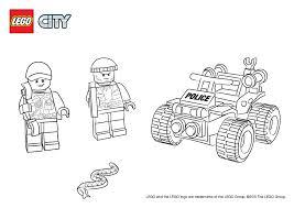 Ausmalbilder Lego Sumpf Polizei