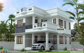 neat simple small house plan kerala home design floor plans home