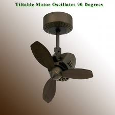oscillating ceiling fan mustang by tropos air oil rubbed bronze