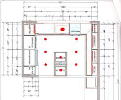 Designing A New Kitchen Layout Kitchen Lighting Design Layout Gallery Us House And Home Real