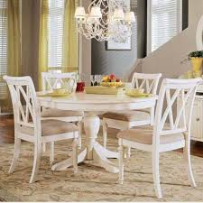 Top Best Round White Dining Set Pictures Liltigertoo Intended For