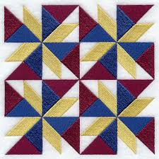 Machine Embroidery Designs at Embroidery Library! - Embroidery Library & Twisted Star Quilt Block - 4 Block - Lg Adamdwight.com